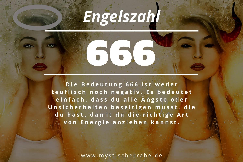 Engelszahl 666 und ihre Bedeutung - Warum siehst du 666?