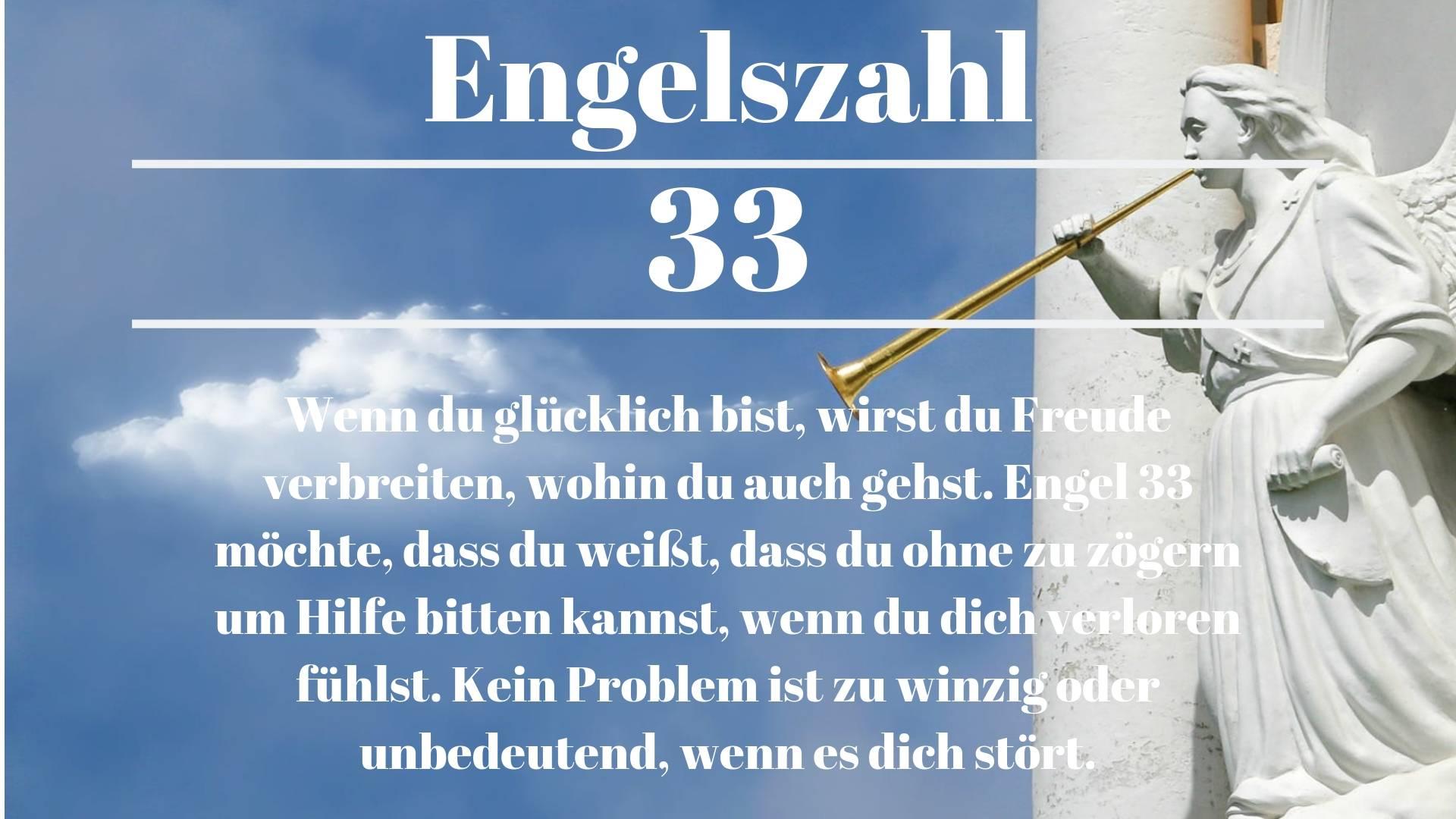 Engelszahl 33 und ihre Bedeutung – Warum siehst du 33?