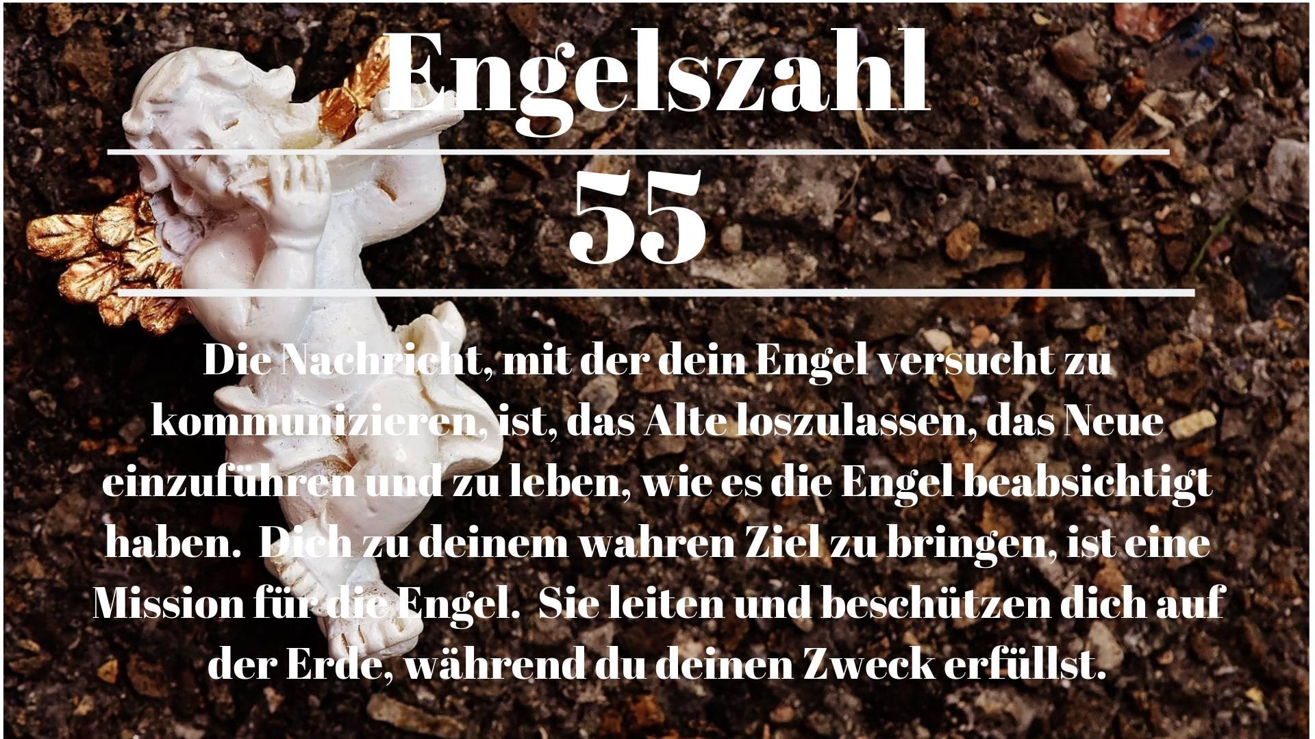 Engelszahl 55 und ihre Bedeutung-Warum siehst du 55?