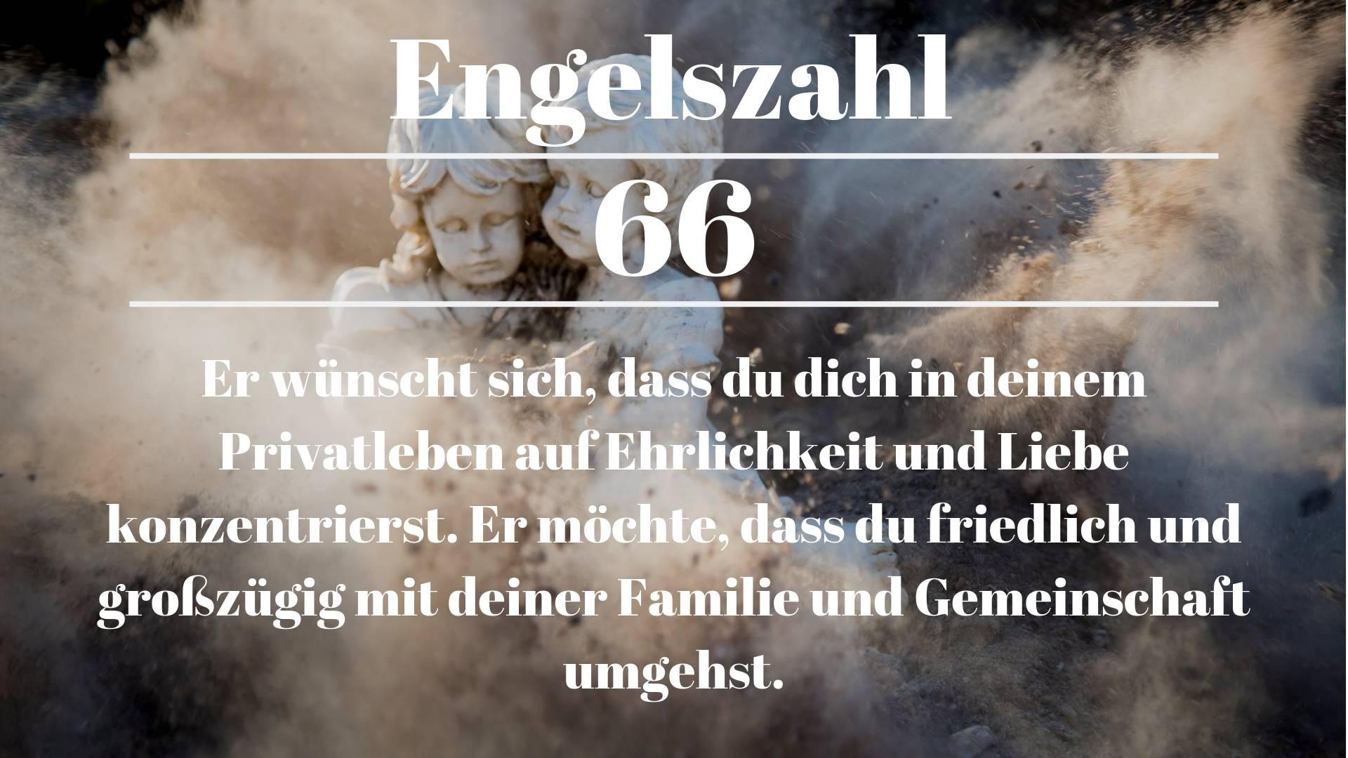 Engelszahl 66 und ihre Bedeutung – Warum siehst du 66?