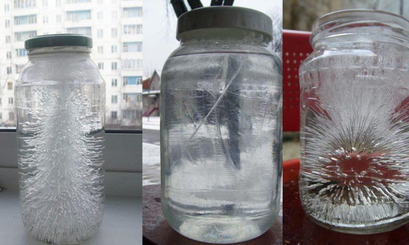 Ein Glas Salzwasser und Essig wird negative Energien in deinem Haus erkennen