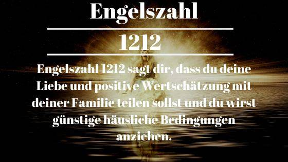 Engelszahl 1212 und ihre Bedeutung – Warum siehst du 1212?