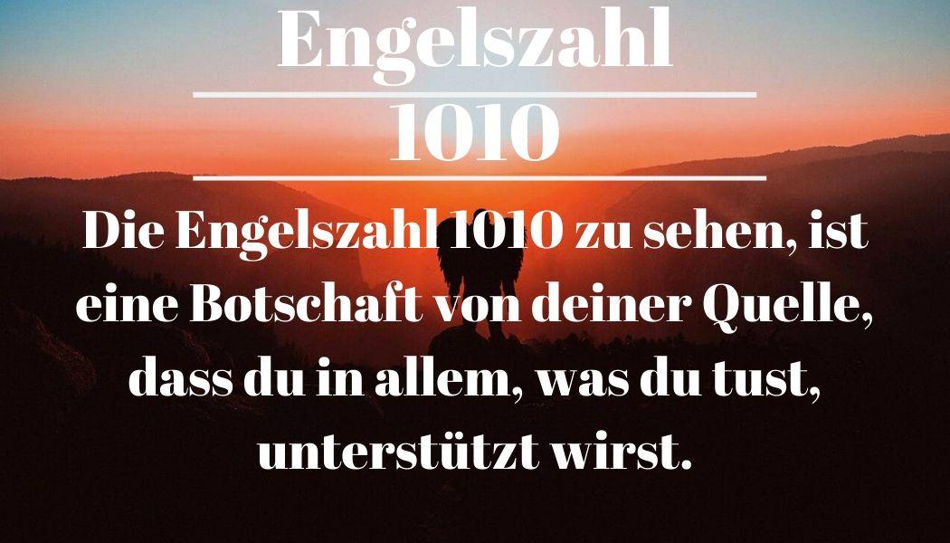 Engelszahl 1010 und ihre Bedeutung – Warum siehst du 1010?