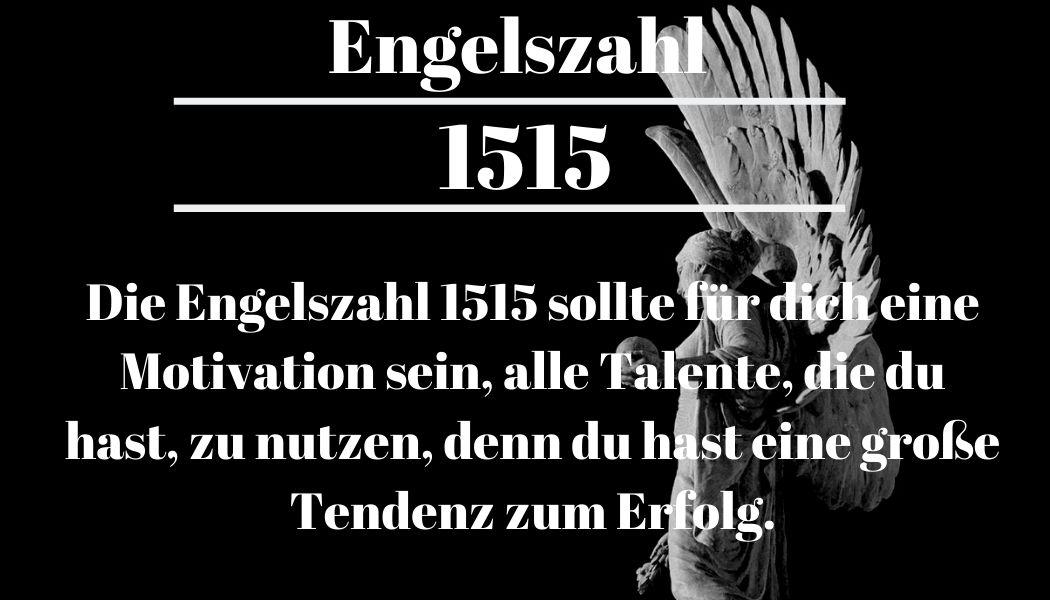 Engelszahl 1515 und ihre Bedeutung – Warum siehst du 1515?