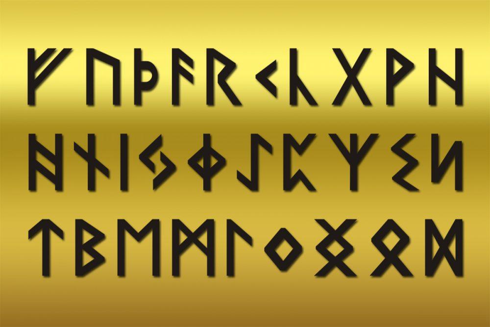 Das ältere Futhark: die Bedeutung von Runen
