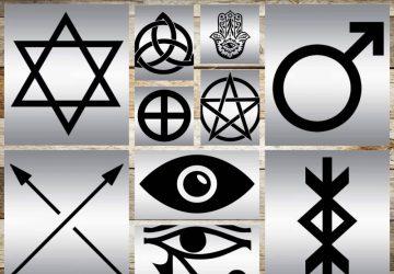 Magische Schutzsymbole, die Sie vor dem Bösen bewahren!