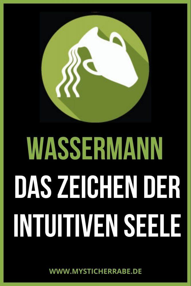 Wassermann: Das Zeichen der intuitiven Seele