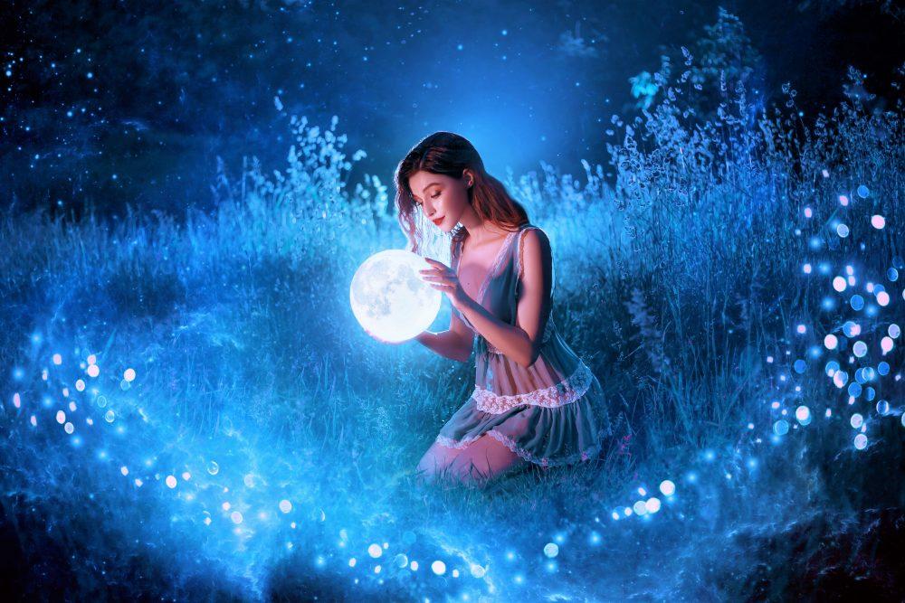 Die Mondgöttin Selene: Wächterin des hellen Mondes