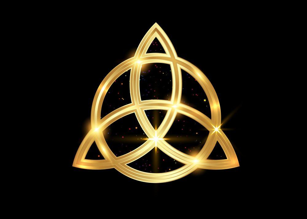 Triquetra: Die Bedeutung des keltischen Dreifaltigkeits-Knoten