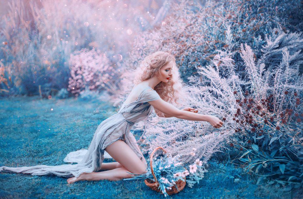 Werde eine weiße Hexe und verwende weiße Magie für das Gute