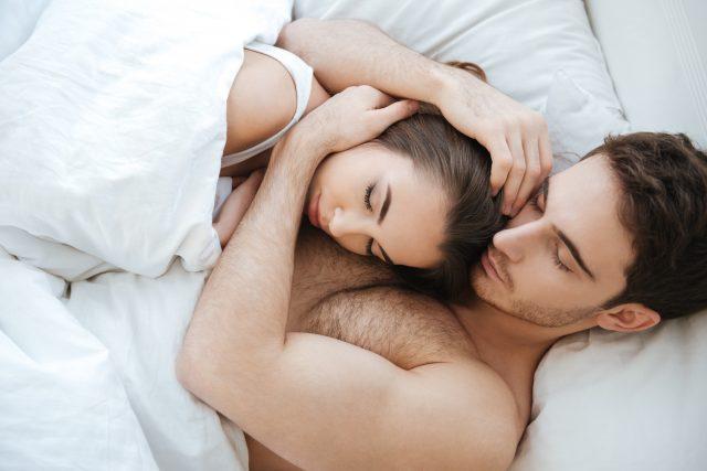 Sex löffelchenstellung Romantischer Löffelsex