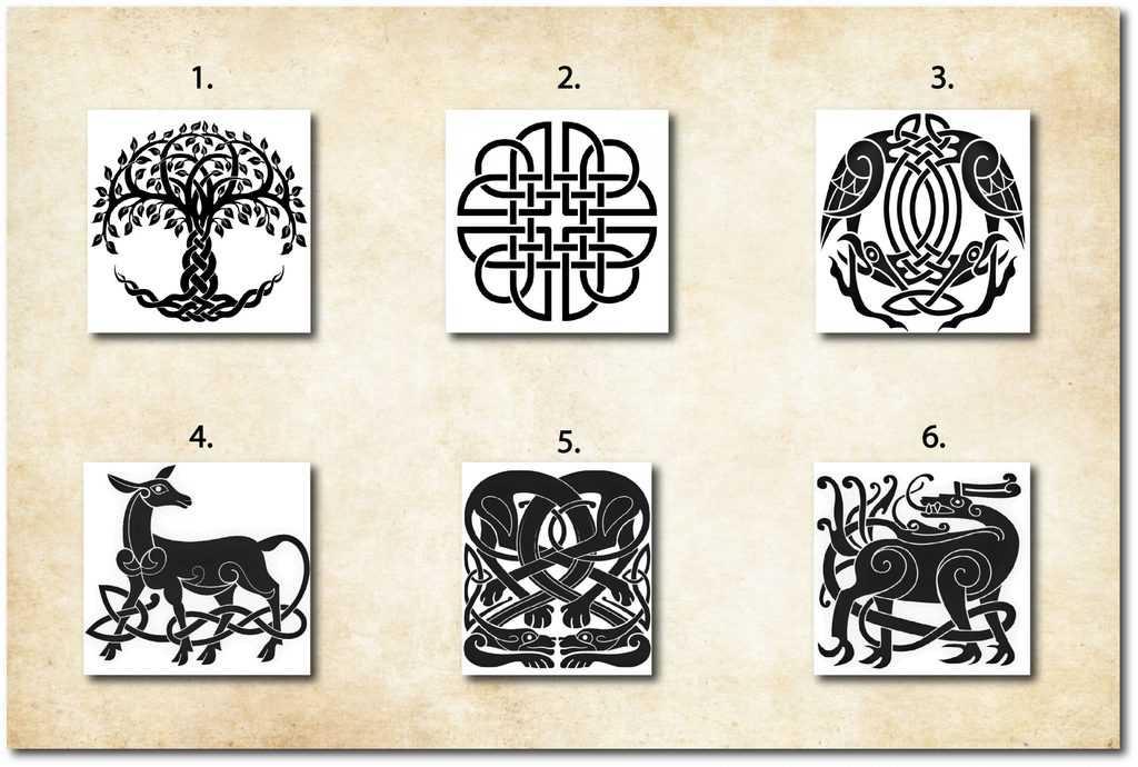 Wählen Sie Ihr keltisches Symbol und finden Sie Ihre verborgene Kraft heraus