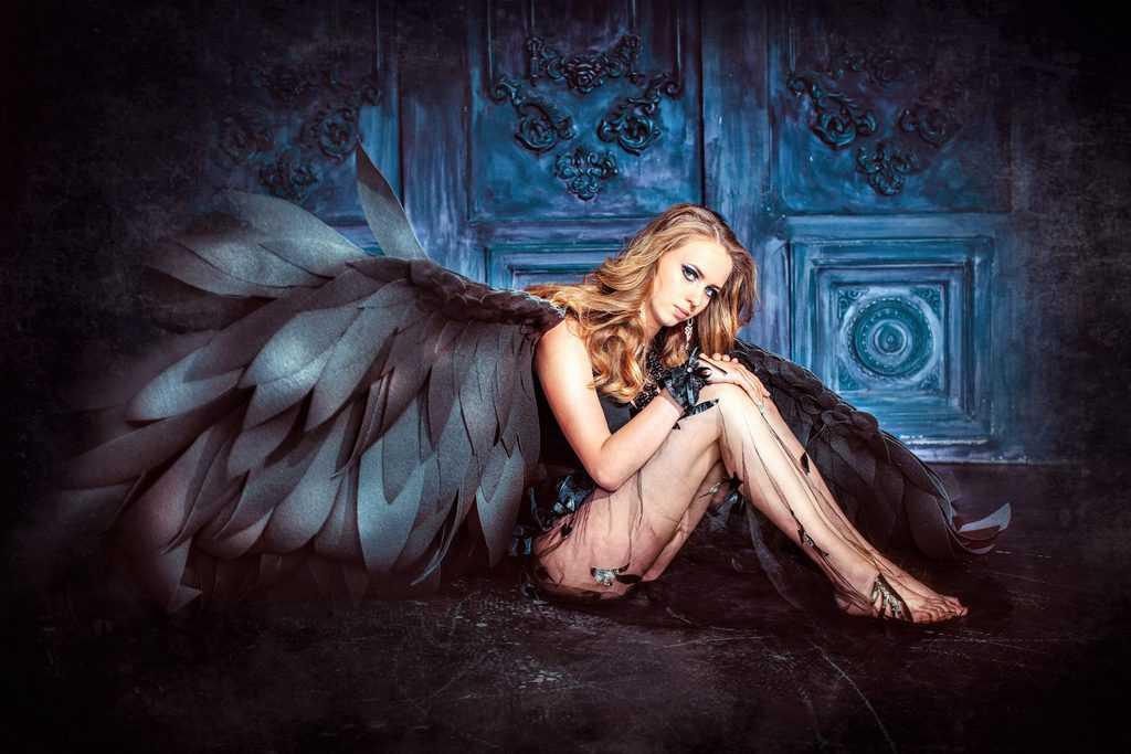 Dunkler Empath: Der gefallene Engel der Empathie