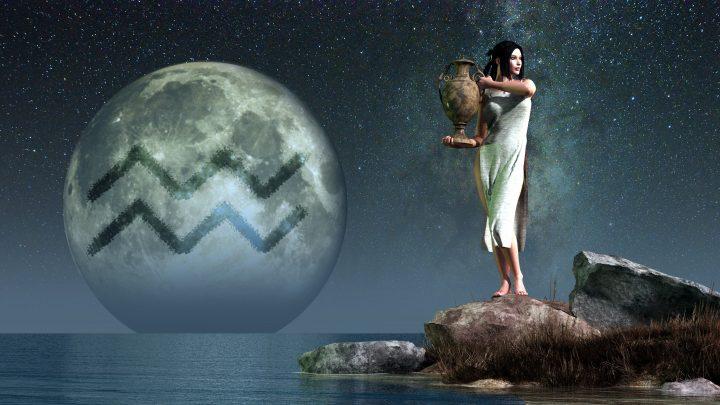 Mondzeichen Wassermann: Die exzentrische Seite, die nach außen drängt