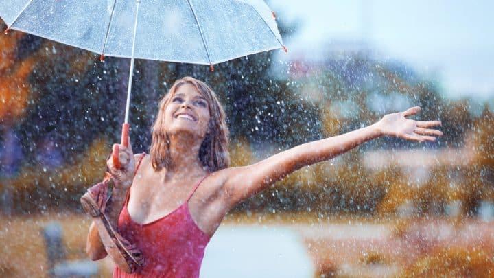 6 Vorteile von Spaziergängen beim Regenwetter