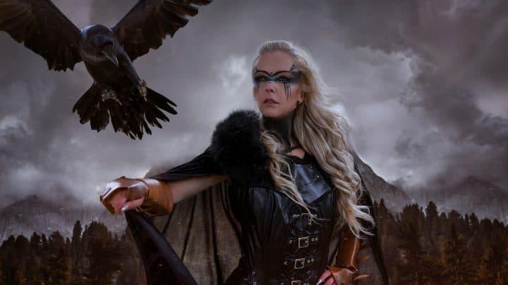 Freya, Göttin des Krieges und der Liebe in der nordischen Mythologie
